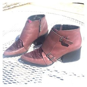 Sam Edelman Leather & Cowhide Marion Fall Booties